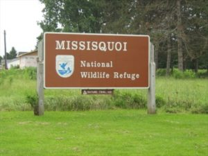 Missisquoi Refuge sign